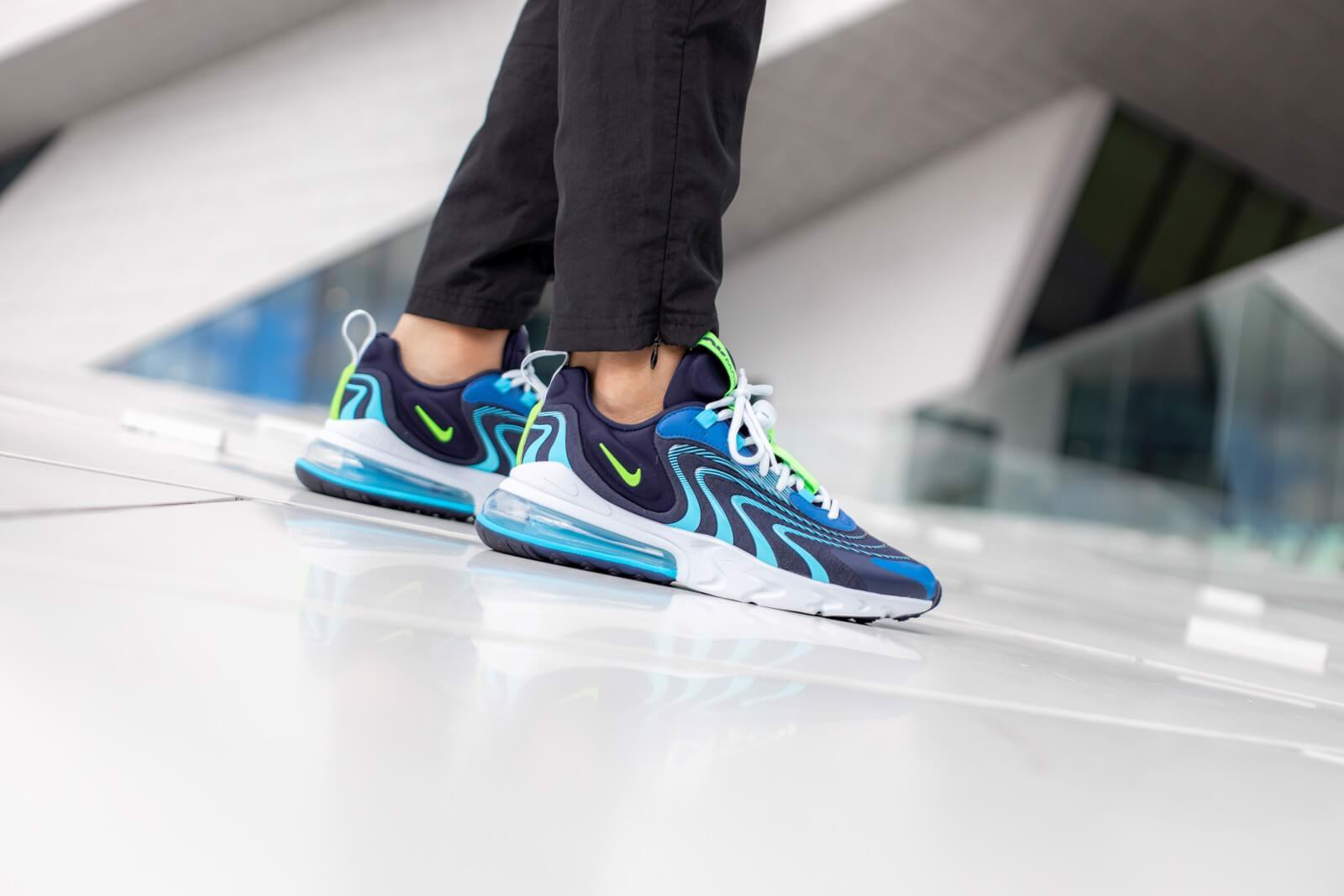 Nike Air Max 270 React ENG 'Blackened Blue' CJ0579-400