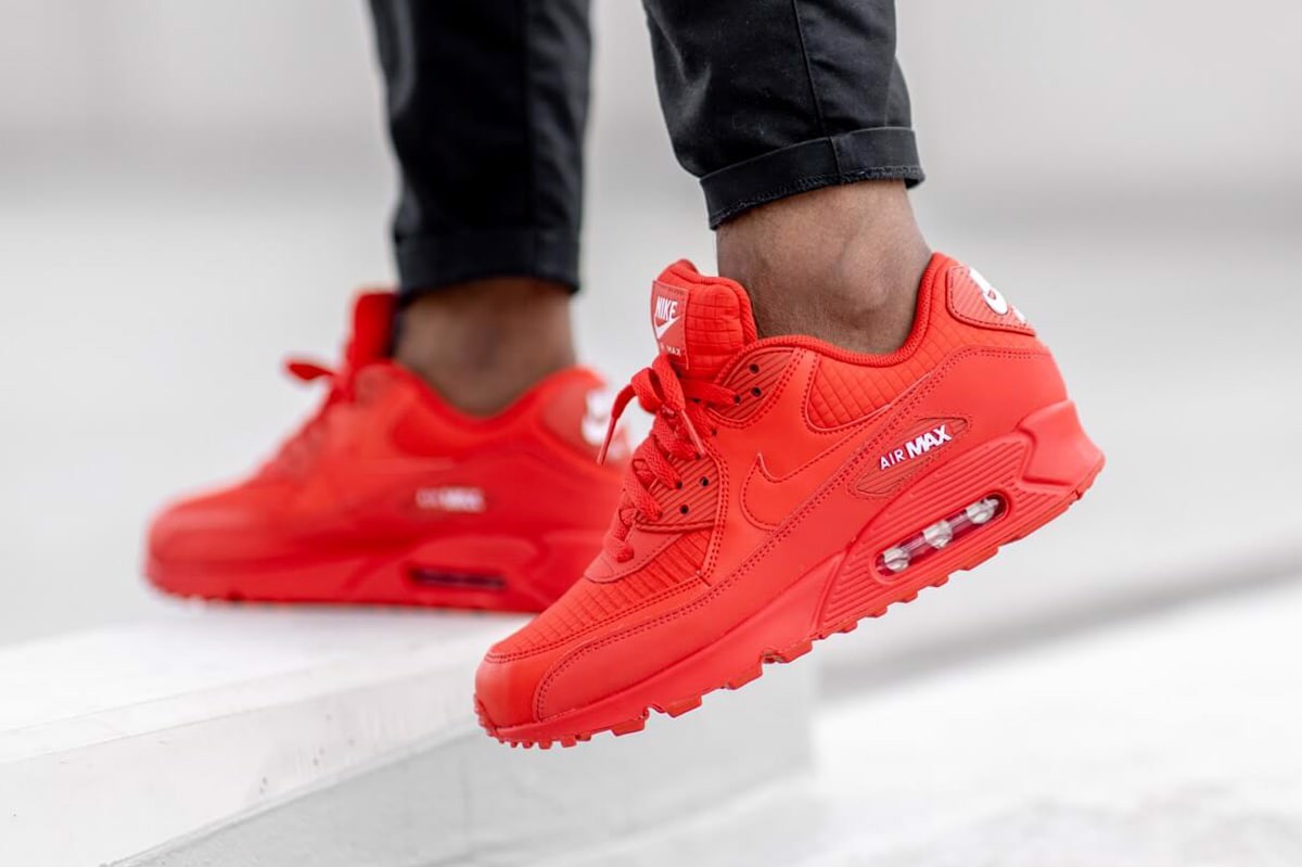 Giày Nike Air Max 90 Essential 'University Red' AJ1285-602