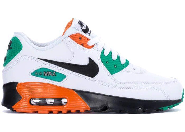 Nike Air Max 90 Leather Starfish Kinetic Green 833412-119