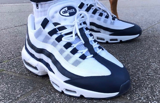 Giày Nike Air Max 95 Essential 'White Navy' CI3705-400