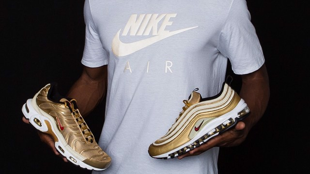 Nike Air Max Plus 'Metallic Gold' AR0259-700