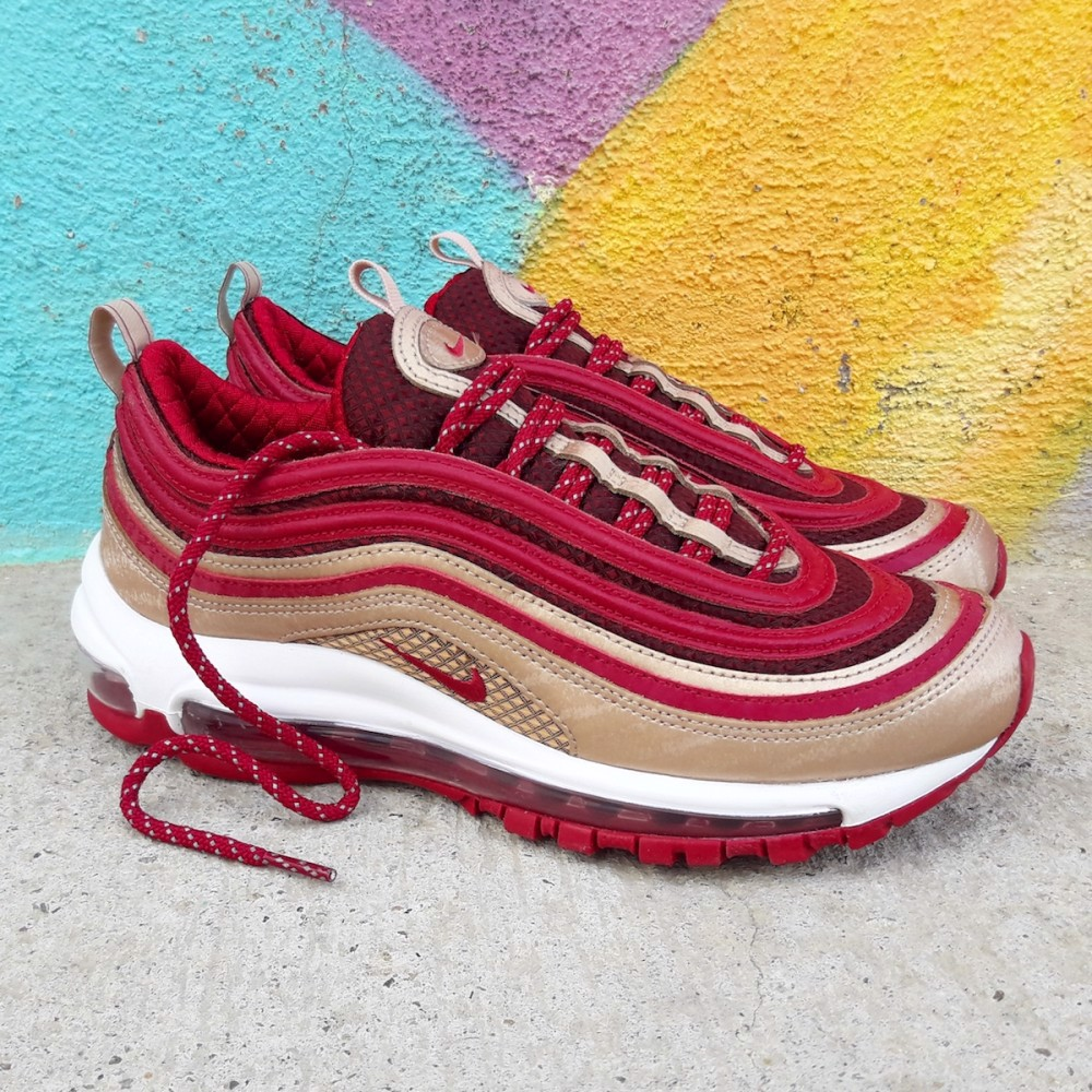 Nike Air Max 97 QS GS 'Noble Red' BQ4429-600