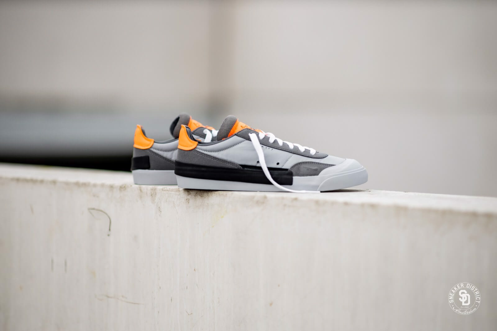 Nike Drop Type LX 'Wolf Grey And Orange' AV6697-002