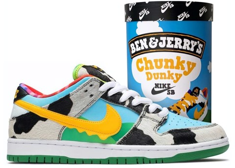 Nike SB Dunk Low Ben & Jerry's Chunky Dunky CU3244-100
