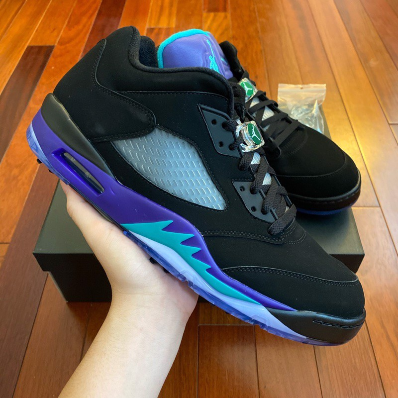 Nike Air Jordan 5 Low Golf 'Black Grape' CU4523-001