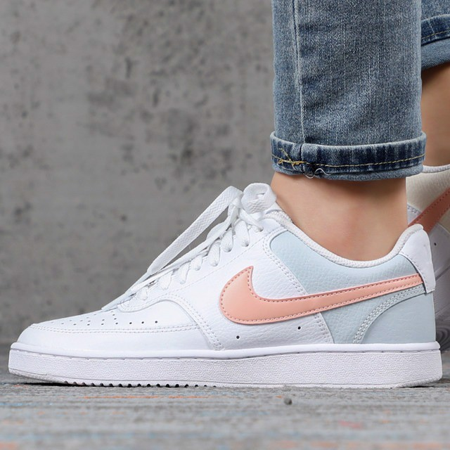 Nike Court Vision Mid White Washed Coral Aura CD5434-103