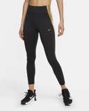 Nike One Leggings 'Black Gold' CU5021-010