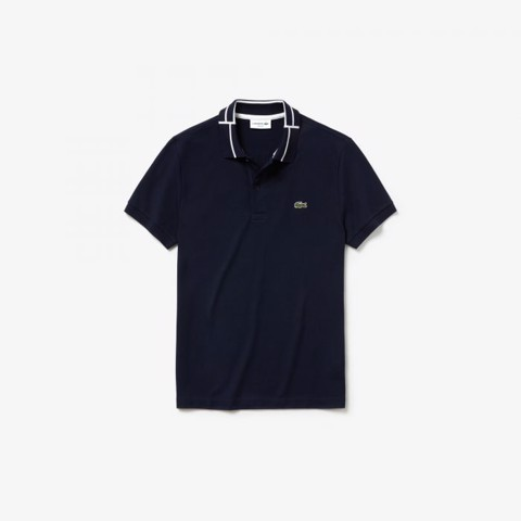 Lacoste Slim Fit Cotton Stretch Mini Piqué Polo Shirt