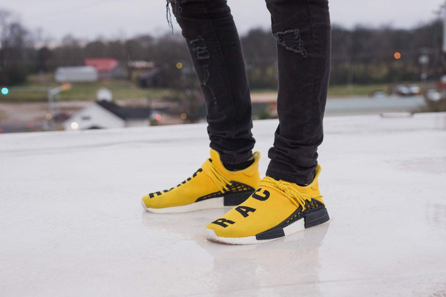 Adidas Pharrell x NMD Human Race 'Yellow' BB0619