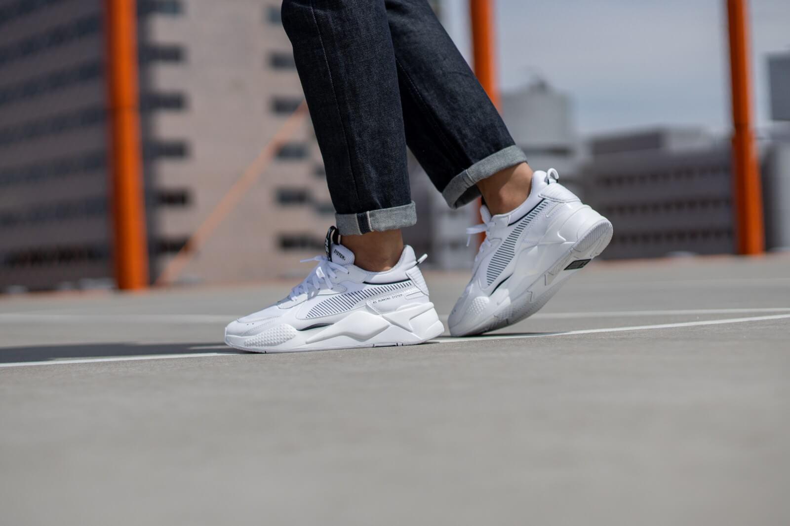 Puma RSX Pure Reflective White 373324-01