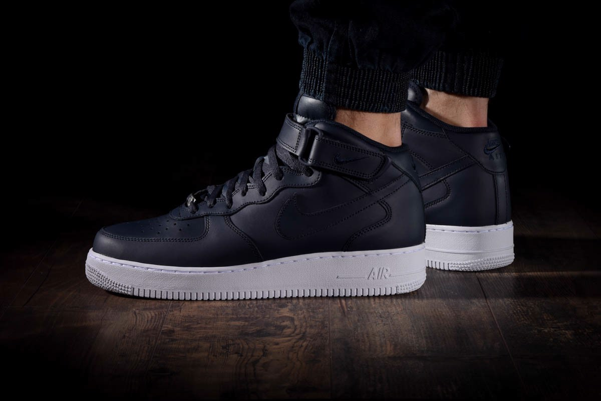 Nike Air Force 1 Mid 07 'Obsidian' 315123-415