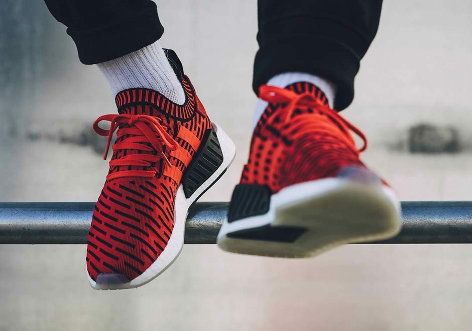 adidas NMD_R2 PK 'Core Red'  BB2910