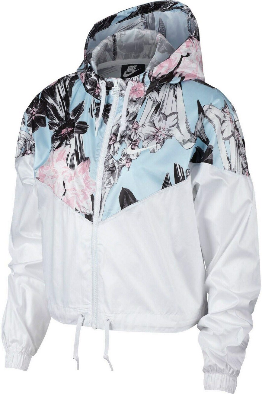 Áo Nike Windrunner Cropped Jacket Women White AR5151-100