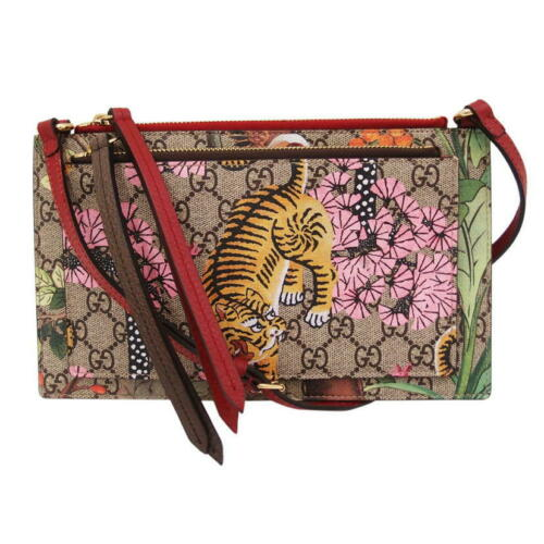 Túi Gucci GG Supreme With Pouch Multicolor Canvas Shoulder Bag 454111