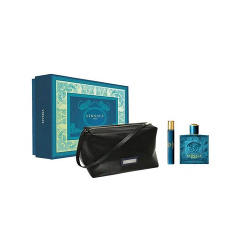 Set Nước Hoa Versace Eros For Men (EDT 100ml & EDT 10ml & Túi)