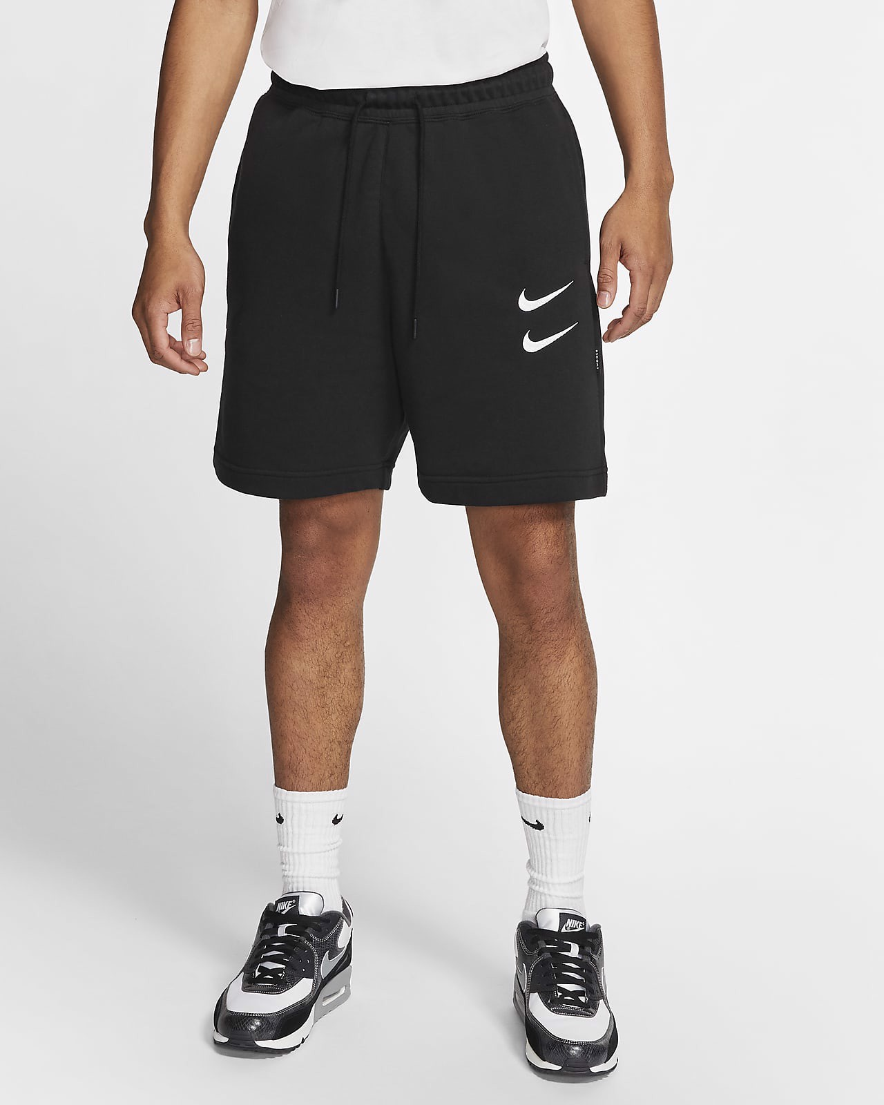 Nike Sportswear Swoosh French Terry Shorts CJ4882-010