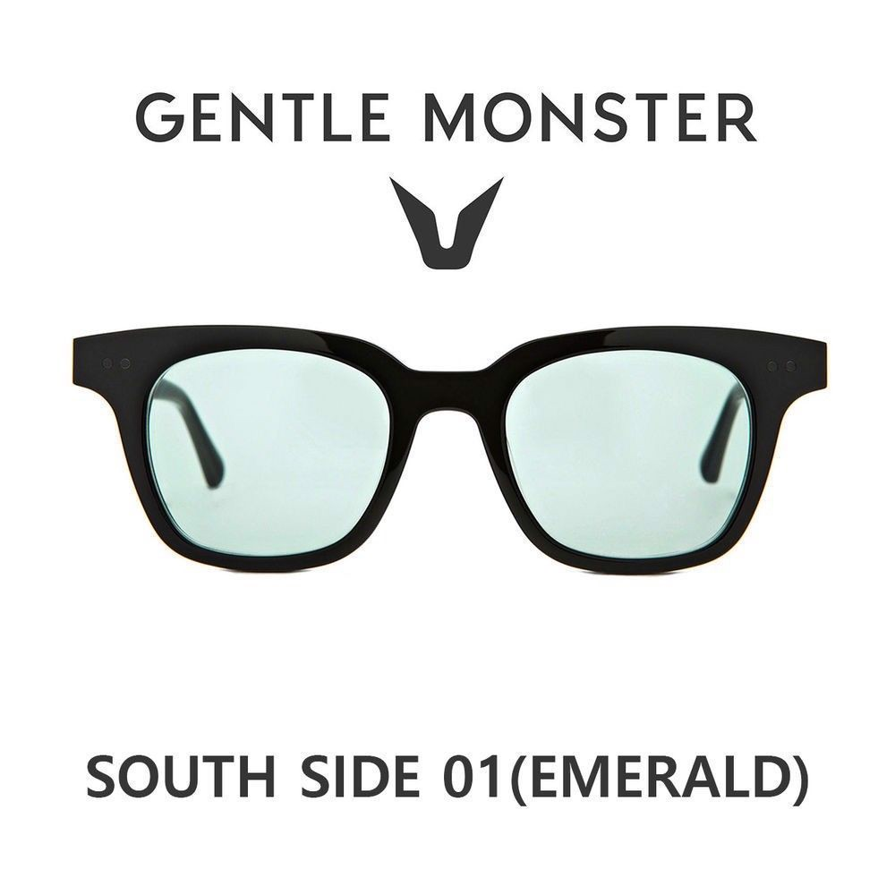Gentle Monster SOUTH SIDE 01 EMERALD