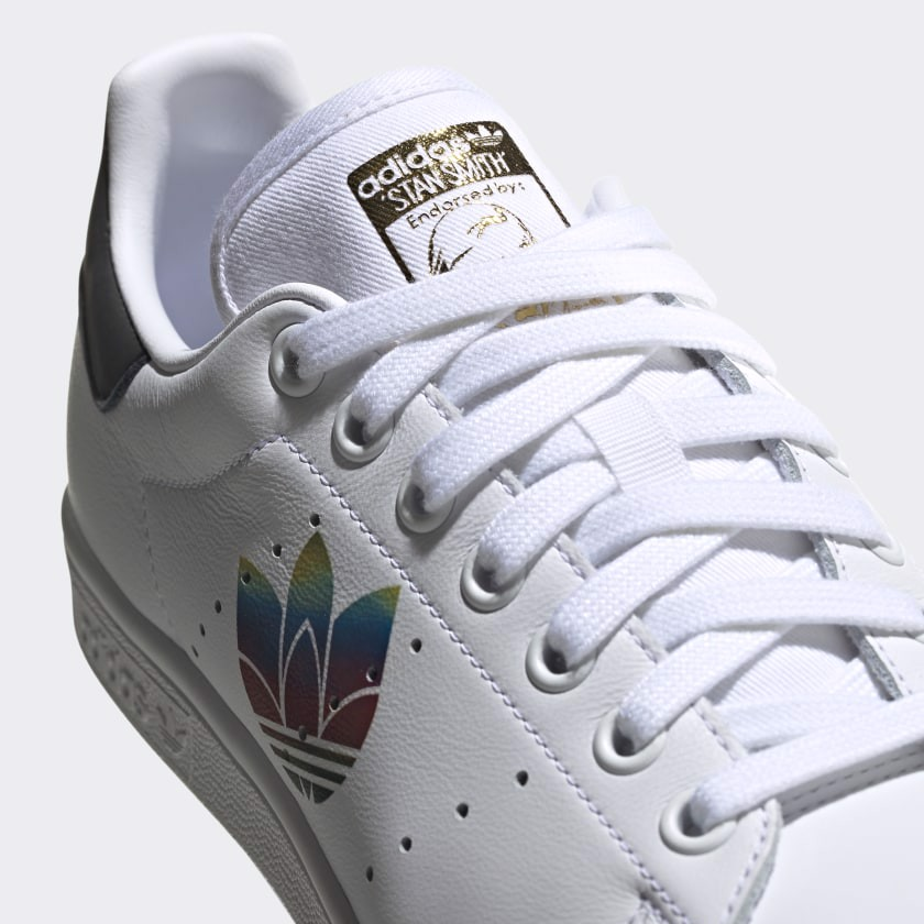 Giày Adidas Stan Smith 'Colorful Trefoil' FW2443