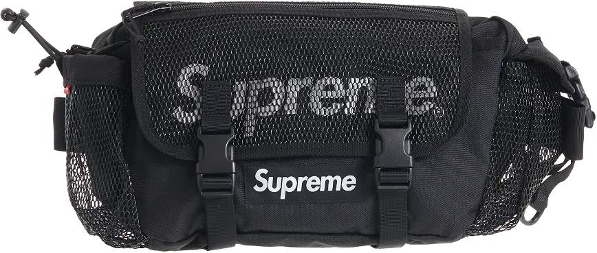 Túi Supreme Waist Bag SS20 Black SUP-WABBKP