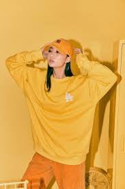 Áo MLB Sweater LA Yellow Baseball 31MT21011-07Y