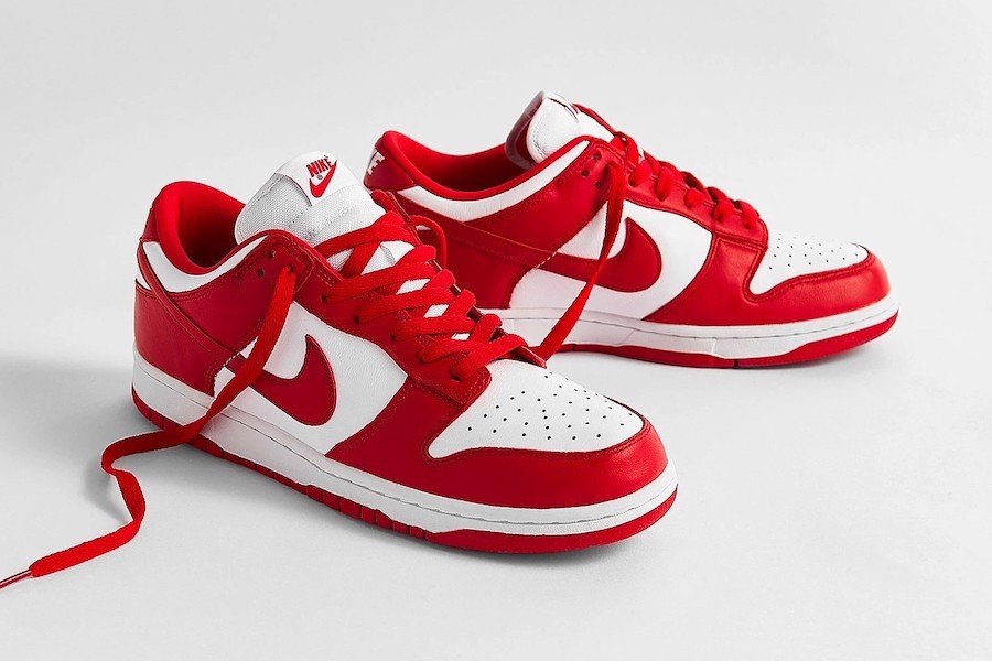Nike Dunk Low University Red (2020) CU1727-100