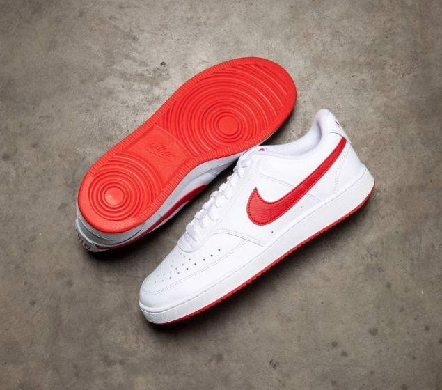 Nike Court Vision Low 'White University Red' CD5463-102