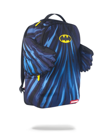 sprayground batman wings backpack blue