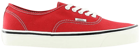 Vans Authentic 44 DX 'Anaheim Factory - Racing Red' VN0A38ENMR9