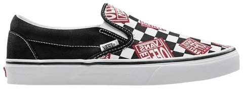 Vans Classic Slip-On 'Off The Wall Check' VN0A38F7RO2