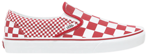 Vans Classic Slip-On 'Red Mix Checker' VN0A38F7VK5