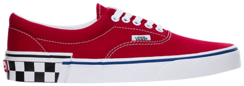 Vans Era 'Check Block - Tango Red' VN0A38FRVOR