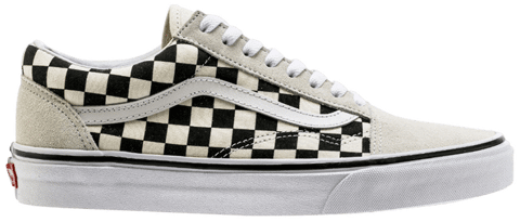 Vans Old Skool 'White Checkerboard' VN0A38G127K