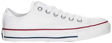 converse wmns chuck taylor all star low optical white w7652