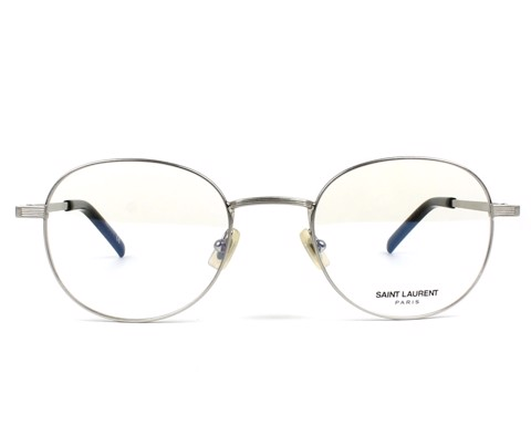 Saint Laurent Eyeglasses in Silver SL 129 002