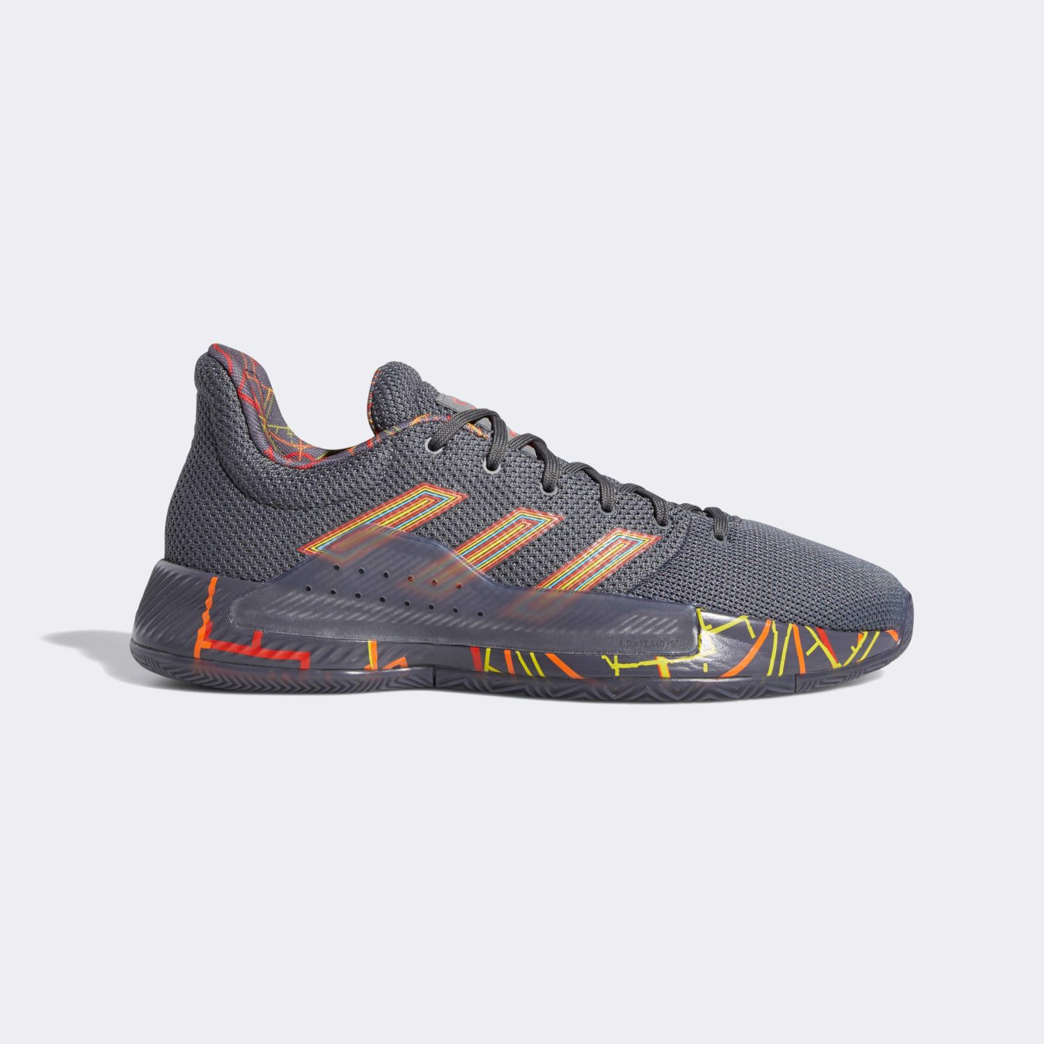 "Adidas Pro Bounce Madness Low 2019 ""Grey"" G27765"