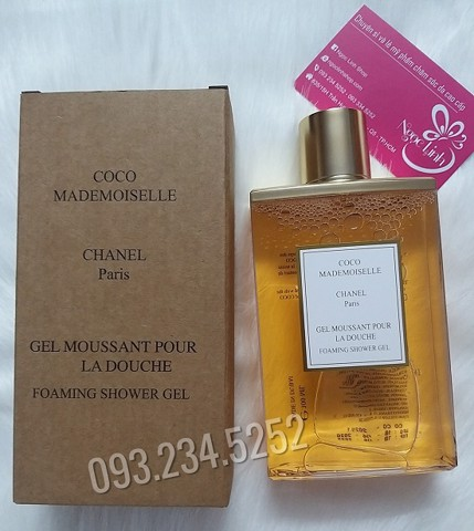 Sữa Tắm Nước  Hoa Chanel Coco Mademoiselle Gel Moussant