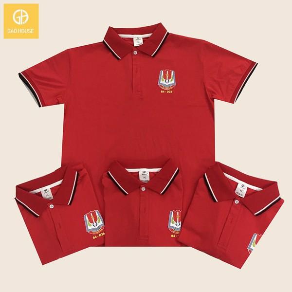 Đồng phục áo họp lớp màu đỏ