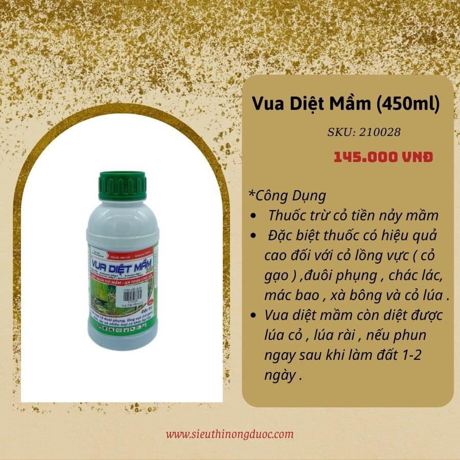 Vua Diệt Mầm  (450ml)
