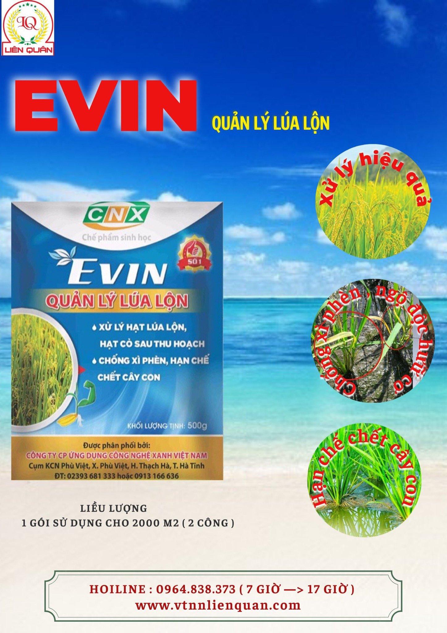Quản lý lúa lộn EVIN (500g)