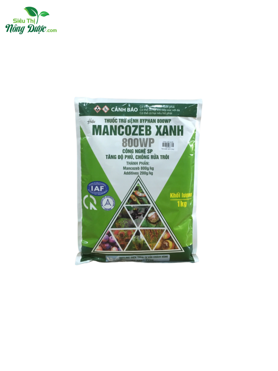 Mancozeb 80WP xanh (Kg)