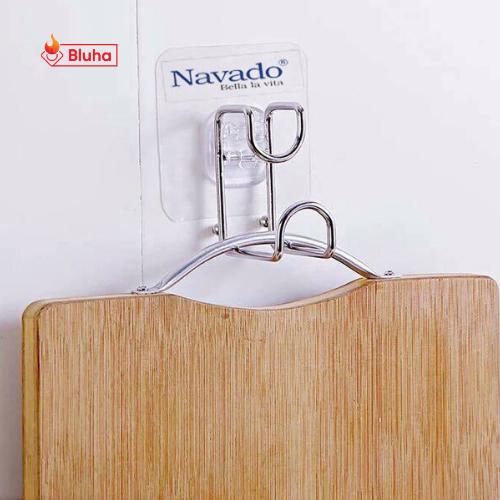 Móc treo inox đa năng không khoan tường Navado GS-5002