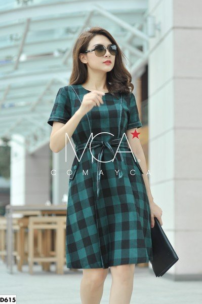 CARO COTTON POLO DRESS - D615