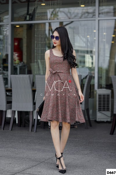 MULLET LACE MINI DRESS - D667