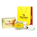 Triangle Shape Bird's Nest With Feather 100g