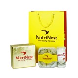 Triangle Shape Bird's Nest With Feather 50g