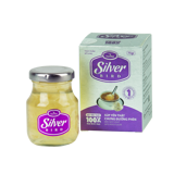 Silver Bird - Bird's Nest Soup With Rock Sugar  100% Real Bird Nest - Jar 72gr