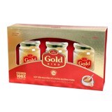 Gold Bird  - Whole bird's nest with rock sugar - Gift box 3 jars x 190gr