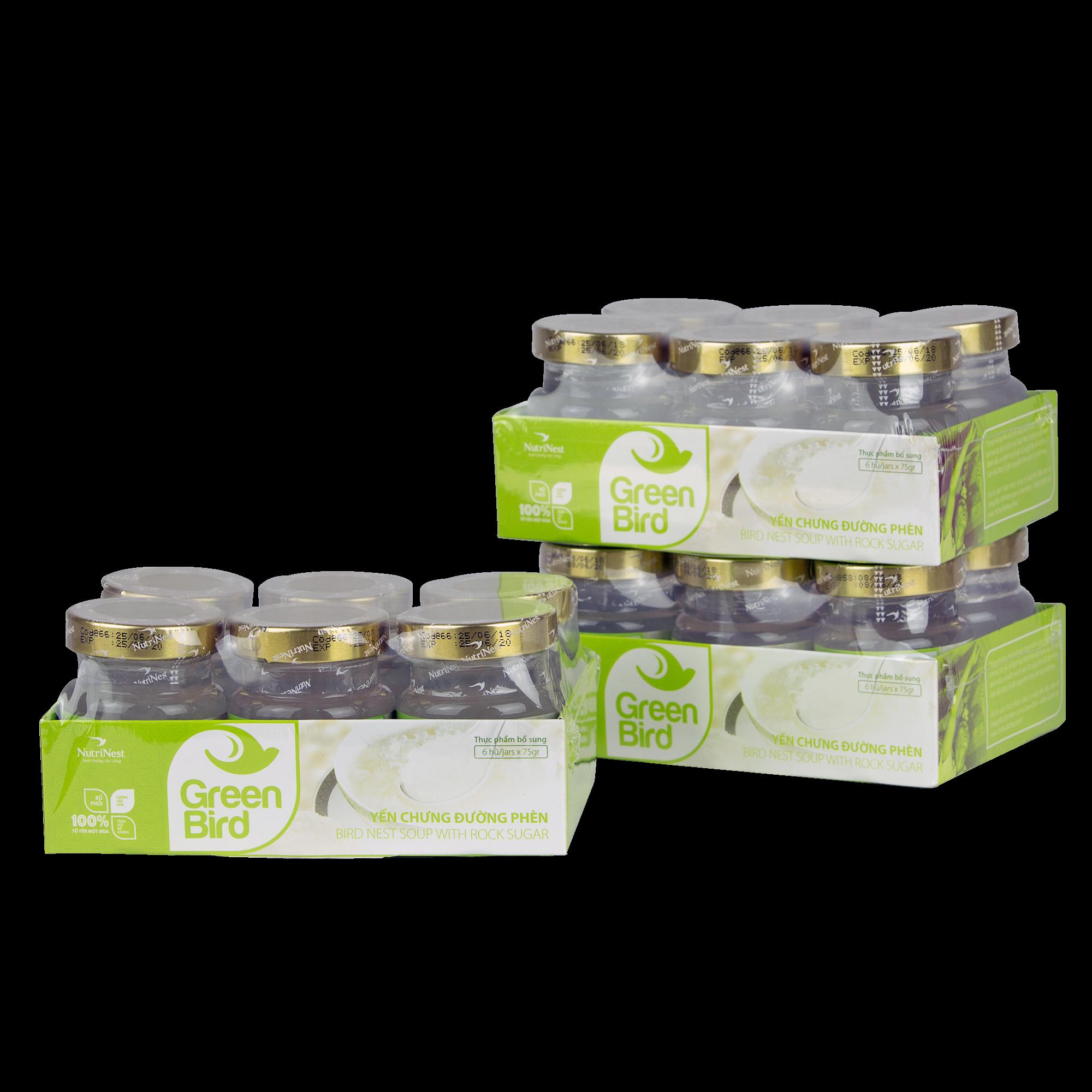 绿鸟-燕窝炖冰糖水 (6罐x72克垫架 )
