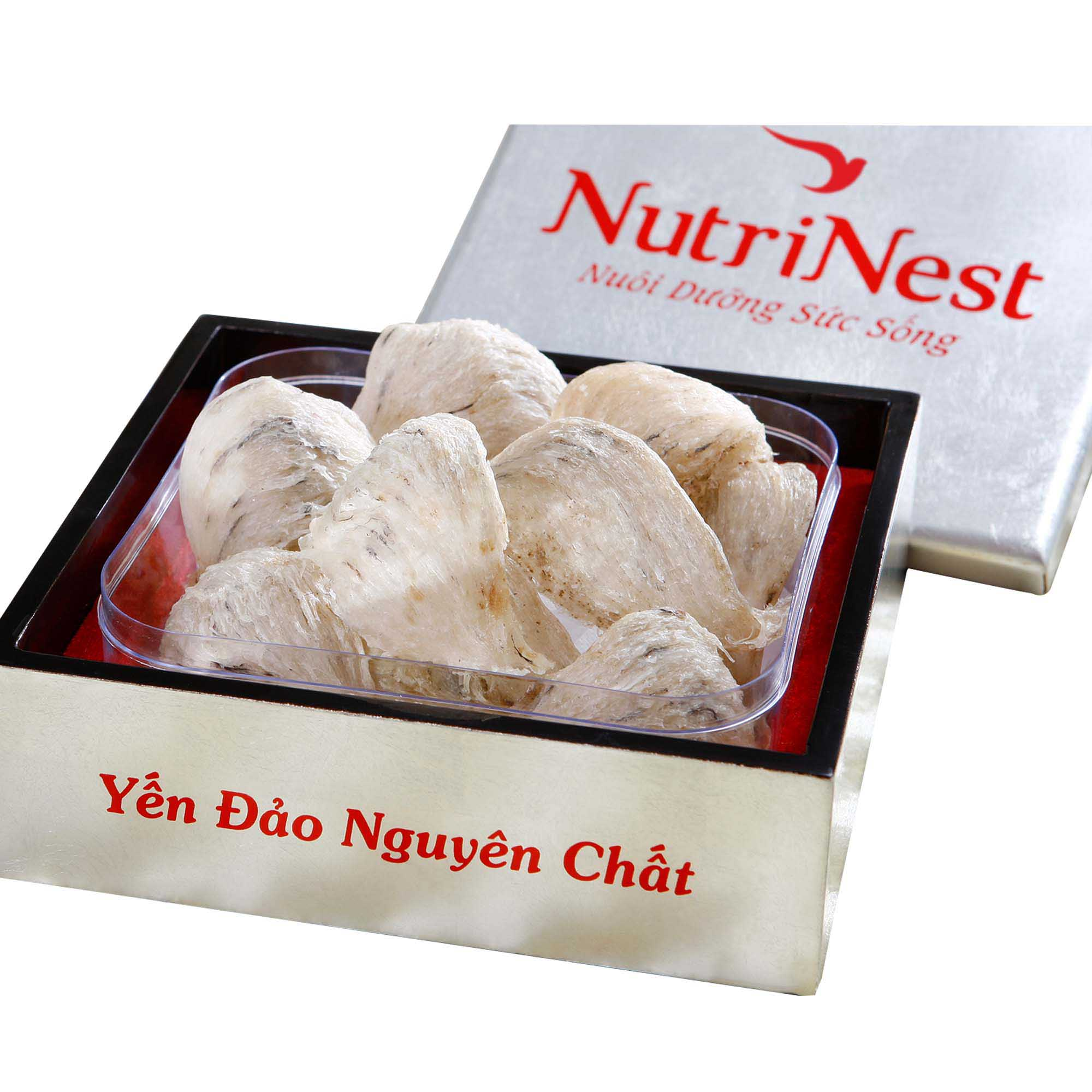 Man-Made Cave Bird's Nest With Feather 50g
