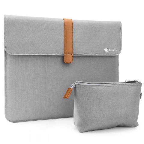 Tomtoc - Canvas Sleeve with Pouch MacBook Air | Pro 13-inch (Tạm hết)